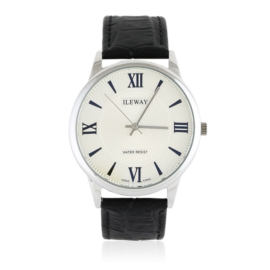 Zegarek męski na skórzanym pasku - Z1563