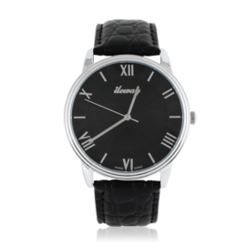 Zegarek męski na skórzanym pasku - Z1564