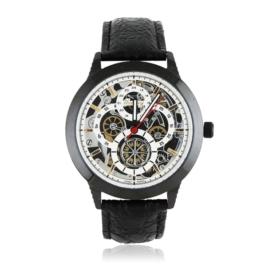Zegarek męski na skórzanym pasku - Z1565