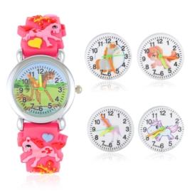 Zegarek dziecięcy na silikonowym pasku - Z1566