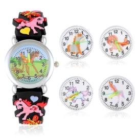 Zegarek dziecięcy na silikonowym pasku - Z1567