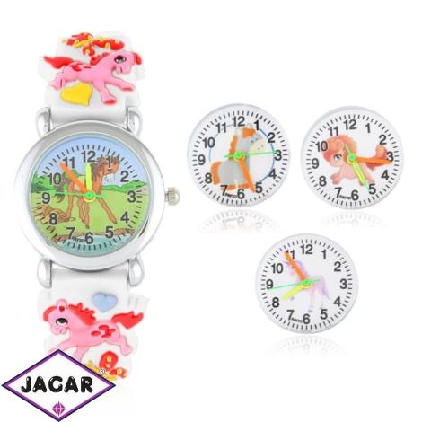 Zegarek dziecięcy na silikonowym pasku - Z1568