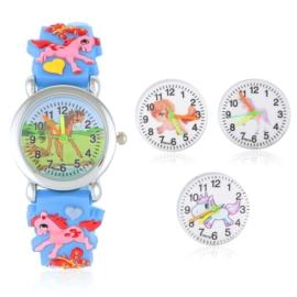 Zegarek dziecięcy na silikonowym pasku - Z1569