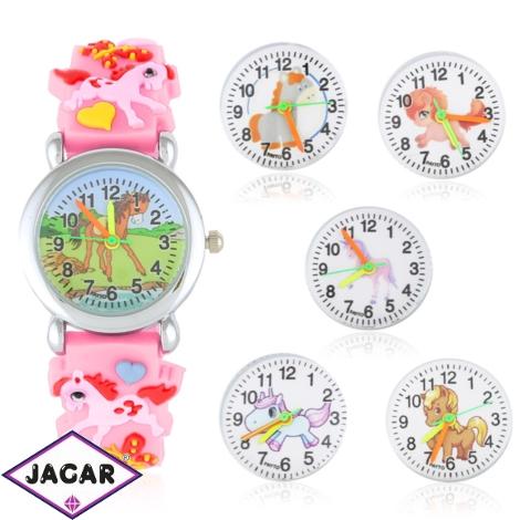 Zegarek dziecięcy na silikonowym pasku - Z1570