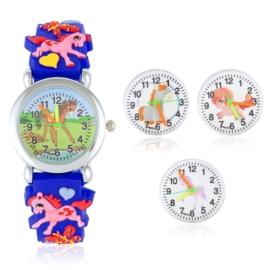 Zegarek dziecięcy na silikonowym pasku - Z1571