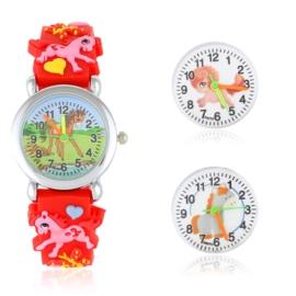 Zegarek dziecięcy na silikonowym pasku - Z1572