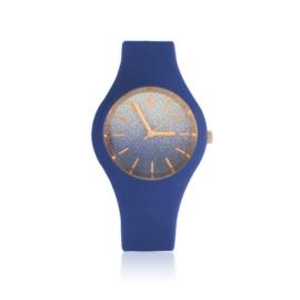Zegarek damski silikonowy - granatowy - Z1580