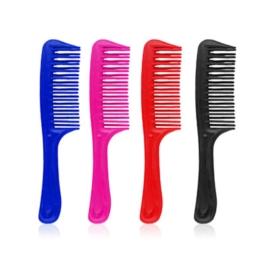 Grzebienie plastikowe do włosów mix kolor SZC118