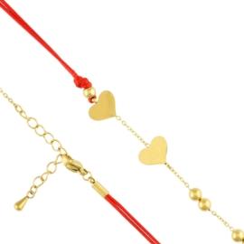 Bransoletka sznurek stal chirurgiczna Xuping BP650