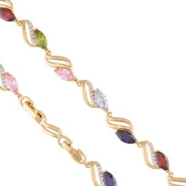 Bransoletka z kryształkami Xuping BP6393
