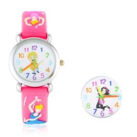 Zegarek dziecięcy baletnica - różowy Z1600