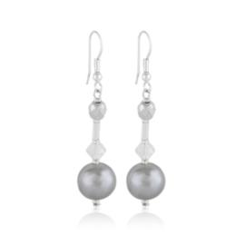 Kolczyki wiszące czeskie perła 50/148 EA3309