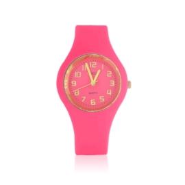 Zegarek silikonowy - różowy Z1612