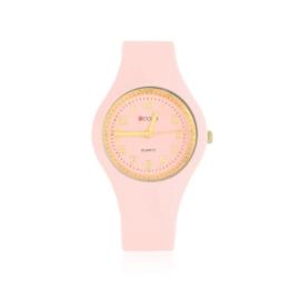 Zegarek silikonowy - jasny różowy Z1614