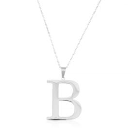 Celebrytka stal - literka B silver Xuping - CP3685