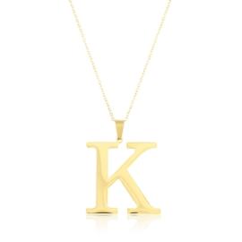 Celebrytka stal - literka K gold Xuping - CP3699