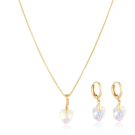 Komplet biżuterii Swarovski - Xuping PK521