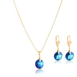 Komplet biżuterii Swarovski - Xuping PK522