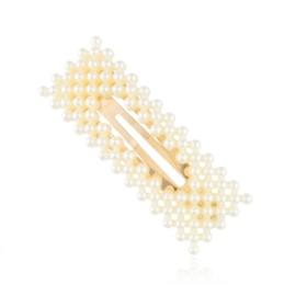 Spinki do włosów - perełki - 7,5cm - 6szt. OS730