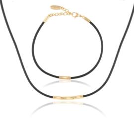 Komplet biżuterii silikonowej - Xuping PK528