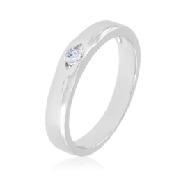 Pierścionek z kryształkiem - Xuping PP2715