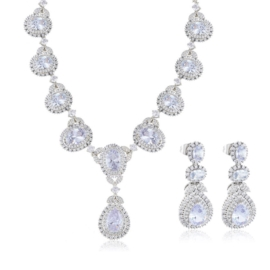 Komplet biżuterii wieczorowej - Xuping - SKO87