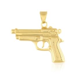 Przywieszka stal pistolet - Xuping PRZ2524