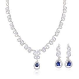 Komplet biżuterii wieczorowej - Xuping - SKO89
