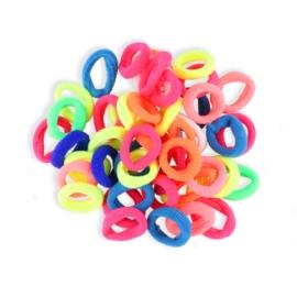 Gumki do włosów mini - kolorowe - OG699