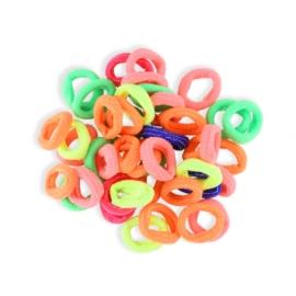 Gumki do włosów mini - kolorowe - OG700