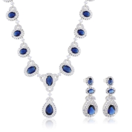 Komplet biżuterii wieczorowej - Xuping - SKO90