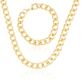 Komplet biżuterii - łańcuch - Xuping PK529