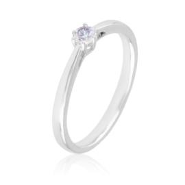 Pierścionek z kryształkiem - Xuping PP2741