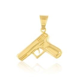 Przywieszka stal pistolet - Xuping PRZ2528