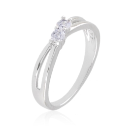Pierścionek z kryształkami - Xuping PP2748