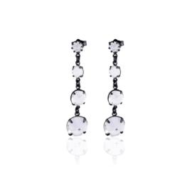 Kolczyki kryształ wiszące 63/35 EA3338