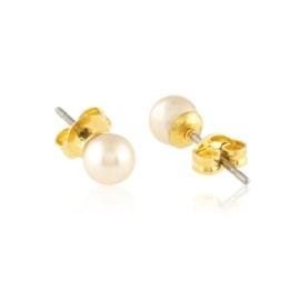 Kolczyki sztyfty perła ecru 41/70 EA3346