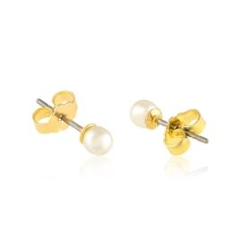 Kolczyki sztyfty perła ecru 0,3cm 53/148 EA3347