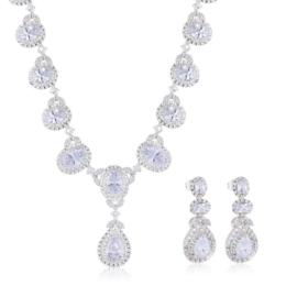 Komplet biżuterii ślubnej Xuping - SKO96