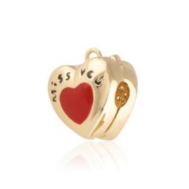 Przywieszka charms - serce - Xuping PRZ2556