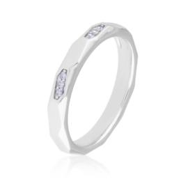 Obrączka z kryształkami - Xuping PP2771