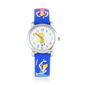 Zegarek dziecięcy baletnica - niebieski - Z1720