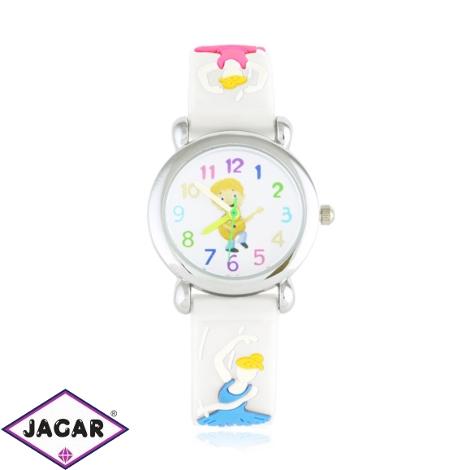 Zegarek dziecięcy baletnica - biały - Z1722