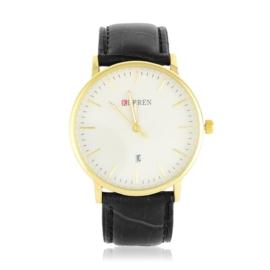 Zegarek męski na pasku - czarny - Z1735