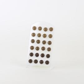 Kolczyki na paletce 12szt - EA3383