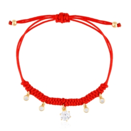 Bransoletka na sznurku regulowana Xuping BP6791