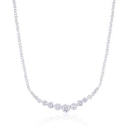 Naszyjnik kryształy 41/59 - NA1827