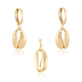 Komplet biżuterii - muszelki - Xuping PK540
