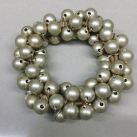 Perłowe gumki do włosów - OG733