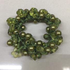 Perłowe gumki do włosów - OG741